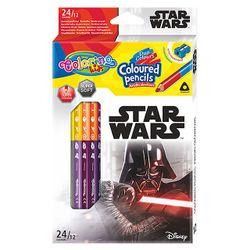 Карандаши цветные двусторонние - Colorino Disney Star Wars