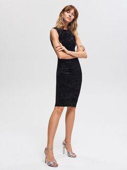 Платье RESERVED Чёрный vq875-99x