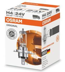 Автомобильная лампа Osram H4 75/70W 24V P43T (64196 TSP)