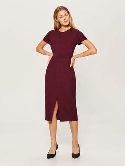 Платье MOHITO Бордо vo224-83x