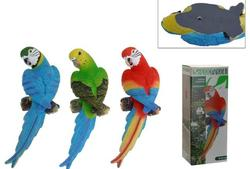 Попугай декоративный H30cm, 12X8cm, 3цвета