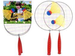 Set palete badminton MEGA L52cm + 2 fluturasi 13cm
