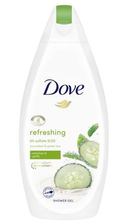 Гель для душа Dove Fresh Touch, 250 мл