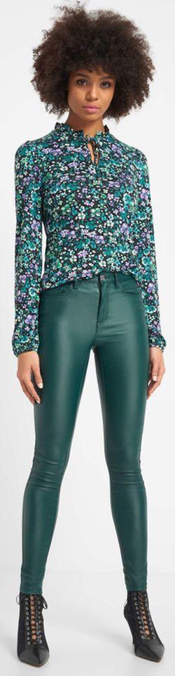 Pantaloni ORSAY Verde inchis 319221 orsay