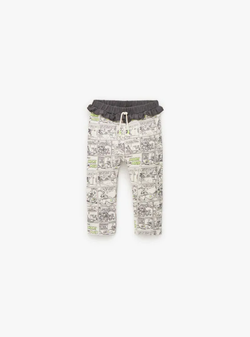 Pantaloni ZARA Imprimeu 5350/550/712