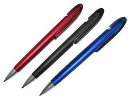 Ручка шариковая толстая, синяя  (ф)