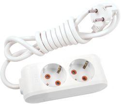 купить Удлинитель электрический Viko 114203 Multi-Let 2 гнезда c/з 3м (16A) в Кишинёве