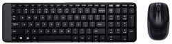 cumpără Tastatură + Mouse Logitech MK220 Black în Chișinău