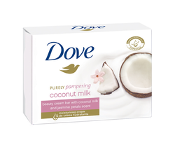 Крем-мыло Dove Coconut Milk, 100 гр