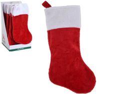 Сапог новогодний для подарков классический 43сm, текстиль