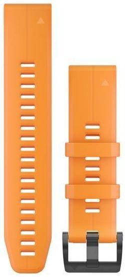 купить Аксессуар для моб. устройства Garmin QuickFit 22 Solar Flare Orange Silicone в Кишинёве