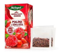 Чай фруктовый Tea Garden Raspberry with Rosehip, 20 шт