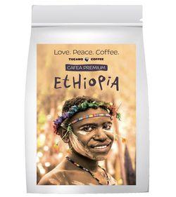 cumpără Cafea TUCANO COFFEE Ethiopia boabe 200gr în Chișinău