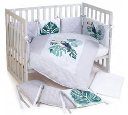 Klups set lengerie pentru patut Tropic Baby (6 un)