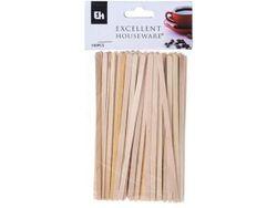 Set betisoare pentru cafea EH 100buc, 14cm, lemn