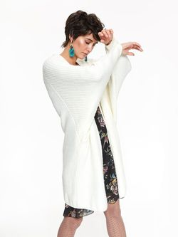 Pulover TOP SECRET Ivory SSW2560KR