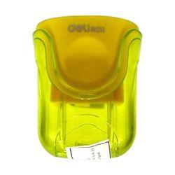 Tочилка Deli Двойная желтый - R011
