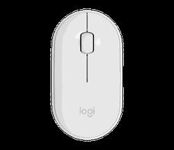 Wireless Mouse Logitech Pebble M350, White