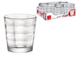 Набор стаканов для воды Cube 6шт, 240ml
