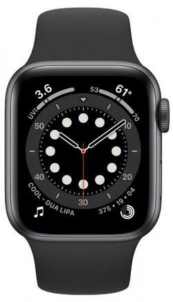 cumpără Ceas inteligent Apple Apple Watch Series 6 40mm Space Gray/Black Sport Band (MG133) în Chișinău