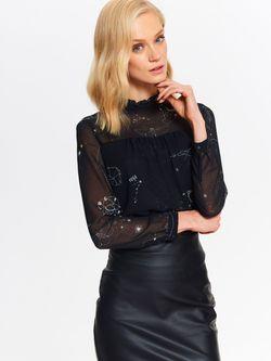 Блуза TOP SECRET Чёрный sbd0811
