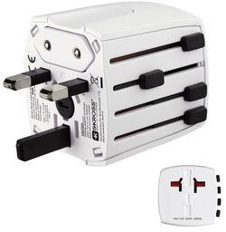 cumpără Adaptor IT Hama 137381 MUV Micro travel plug în Chișinău