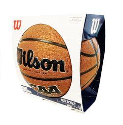 Дисплей для баскетбольного мяча Wilson Basketball SZ7 WTBD74000B (518)