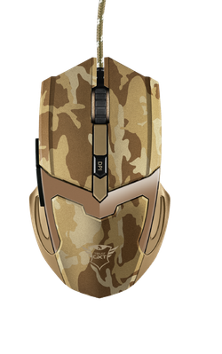 Mouse Trust GXT 101D Gav Gaming, Camo Brown