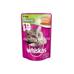 Whiskas pateu cu rață