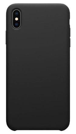 купить Чехол для смартфона Helmet iPhone XS Max, Black Liquid Silicone Case в Кишинёве