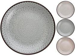 Farfurie 27cm de servire Rim dantela, din ceramica