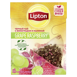 Lipton Nirvana Grape Raspberry, 20 пак.