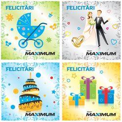 купить Сертификат подарочный Maximum Конверт подарочный в Кишинёве