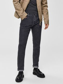 Pantaloni SELECTED Gri denim 16069687