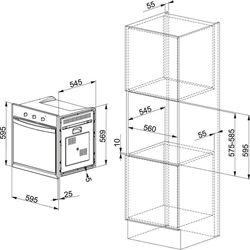 Электрический духовой шкаф Franke CM 981 M/OA