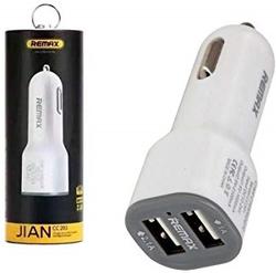 Автомобильное зарядное устройство REMAX 2-USB 2.1A (Белая )