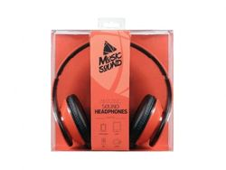 Наушники CellularLine MusicSound Orange