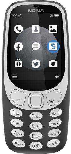 cumpără Telefon mobil Nokia 3310 (3G) Charcoal în Chișinău