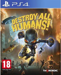 Видео игра Sony Interactive Destroy All Humans (PS4)