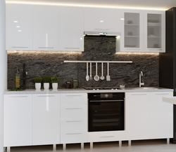 Bucătărie Bafimob Iulia (High Gloss) 2.6m White