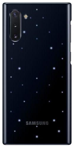 cumpără Husă pentru smartphone Samsung EF-KN970 LED Cover Black în Chișinău