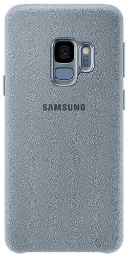 cumpără Husă telefon Samsung EF-XG960, Galaxy S9, Alcantara, Mint în Chișinău