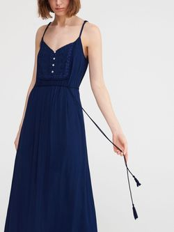 Платье RESERVED Темно синий wb963