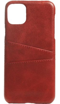 купить Чехол для смартфона Helmet iPhone 11 Pro Red Leather With Pocket в Кишинёве
