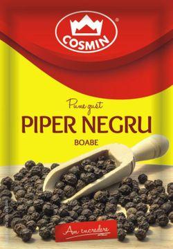 Piper negru boabe Cosmin 17g
