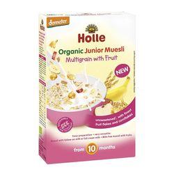 Мюсли мультизлаковые с фруктами с 10 месяцев Holle Organic, 250 г