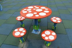 Masă cu scaune pentru copii EBS Table and chairs TE 313 (5p)