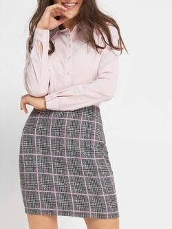 Юбка ORSAY Серый/Розовый 745118 orsay