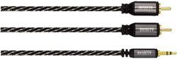 купить Кабель для AV Hama 127077 3.5mm jack 2xRCA plug 1.5m в Кишинёве
