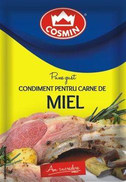 Condiment pentru carne de miel Cosmin 20g